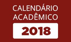 banner do calendário acadêmico 2018