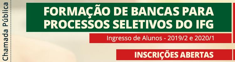 Banner rotativo seleção bancas examinadoras
