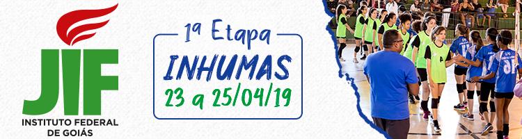 Banner do JIF Goiás 2019