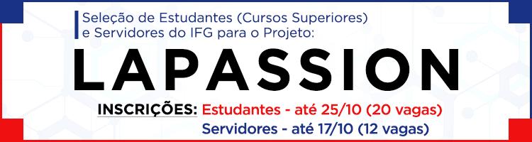 Projeto Lapassion - Seleção tutores