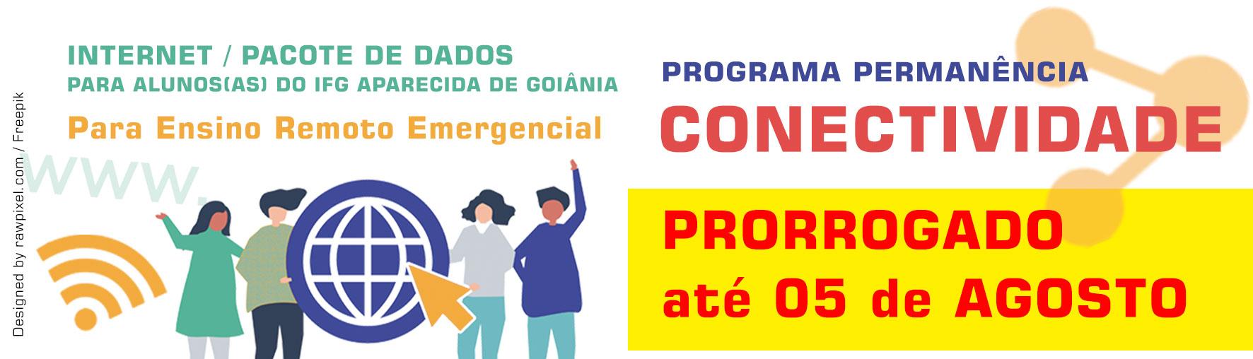 IFG Aparecida de Goiânia lança programa de auxílio-internet para alunos
