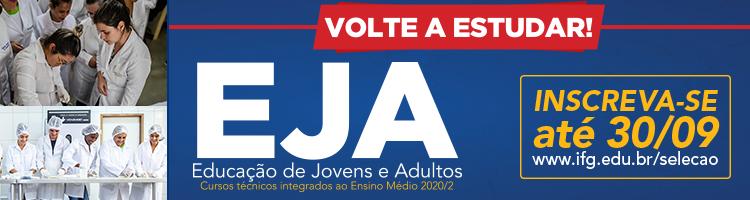 EJA processo seletivo 2020-2