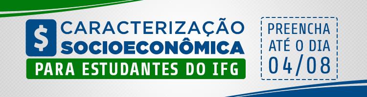 IFG realiza pesquisa para traçar diagnóstico socioeconômico dos estudantes