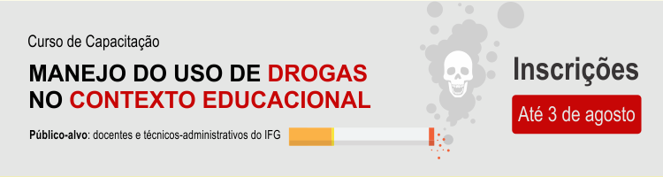 Curso de capacitação uso do manejo drogas