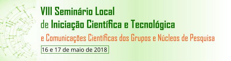 VIII Seminário de Iniciação Científica