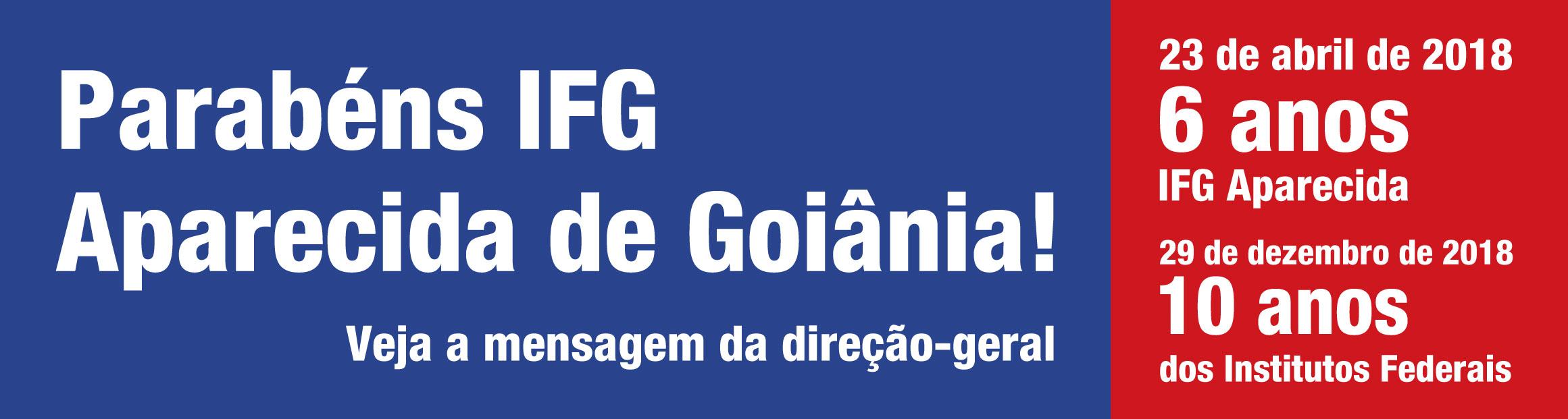 Aniversário de 6 anos do IFG Aparecida de Goiânia