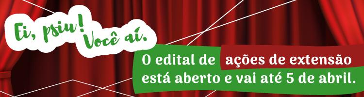 Edital de extensão 2019/1