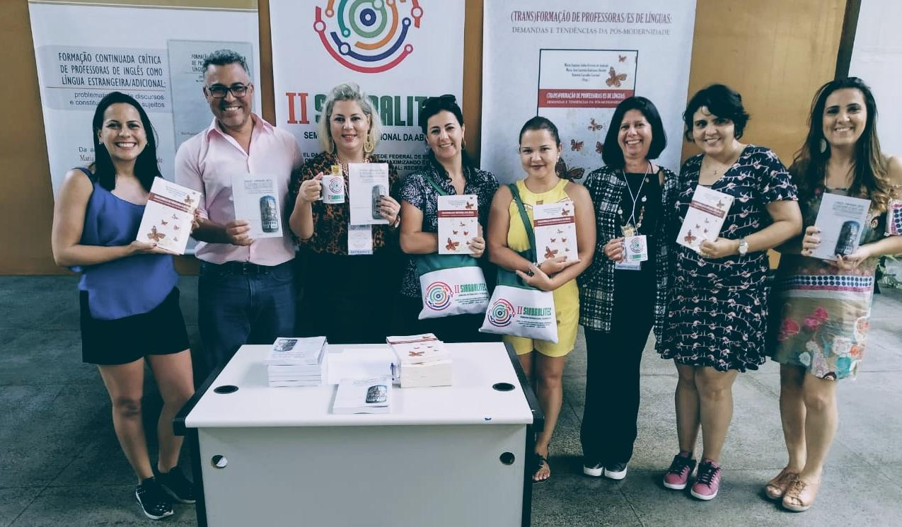Participantes do IFG que estiveram no evento