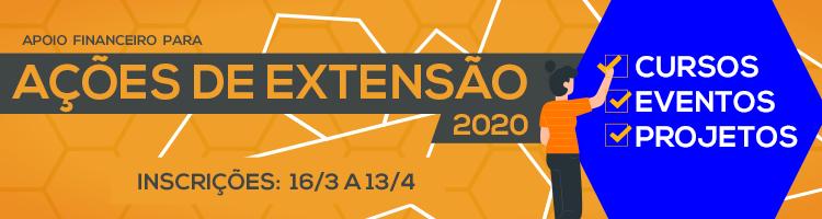 Fomento ações de extensão 2020 1