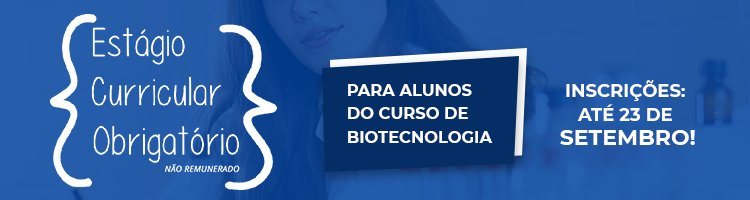 Banner Estágio Curricular Obrigatório