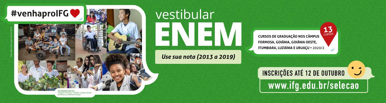 Vestibular Enem 2020/2
