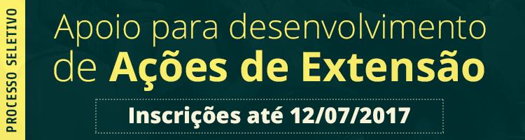 Banner Ações de Extensão