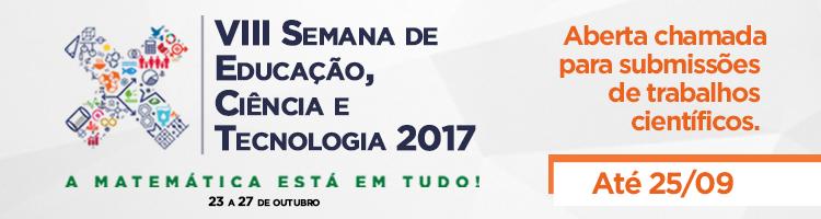 Aberta chamada para submissões SECITEC 2017