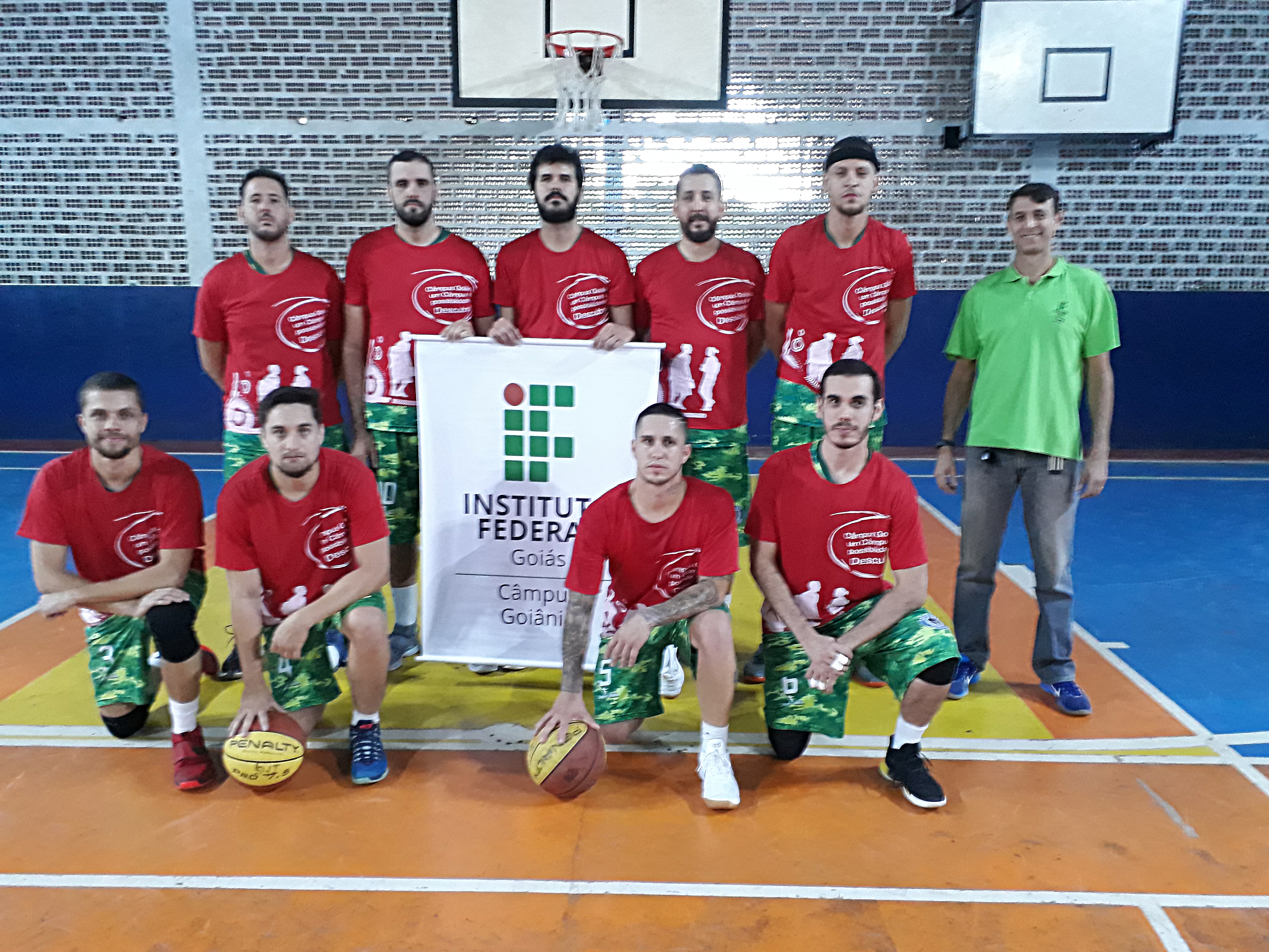 Time de basquete masculino IFG/SOLDIERS/AEGB