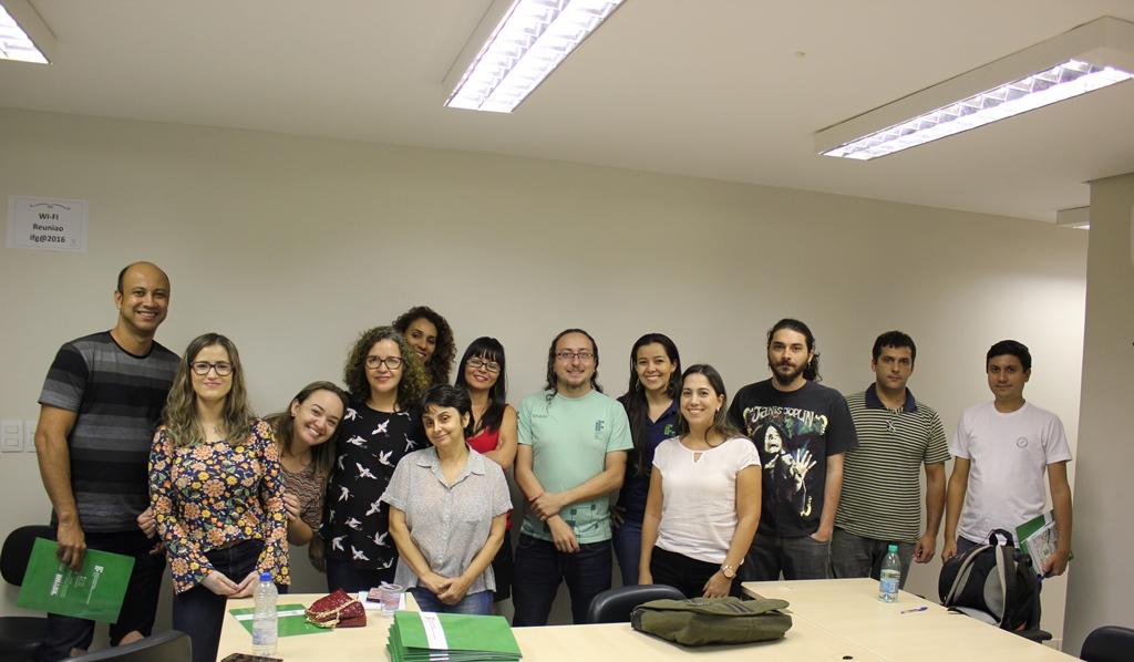 Alguns dos membros da atual gestão da CPA do IFG