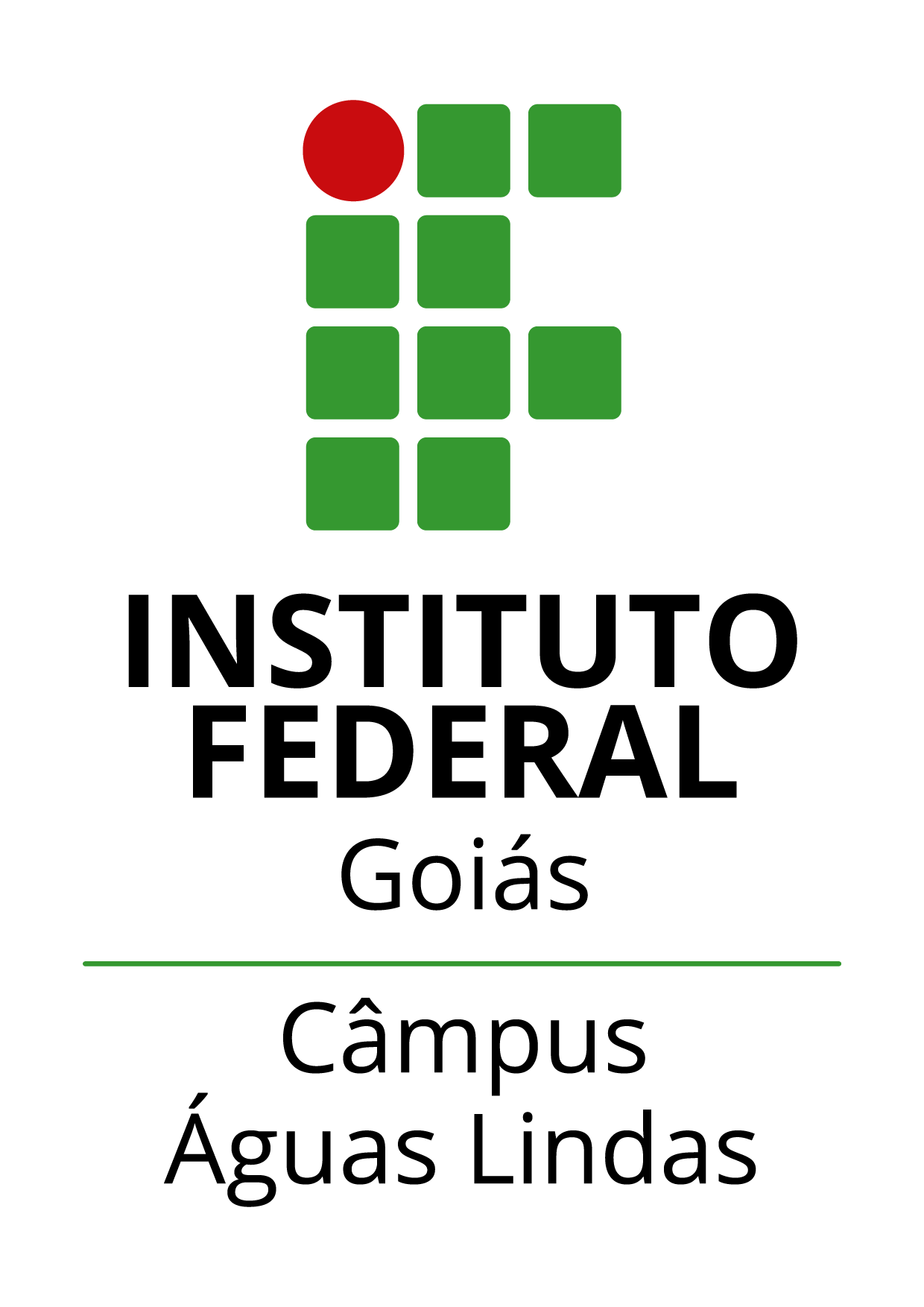 Logo do IFG - Câmpus Águas Lindas