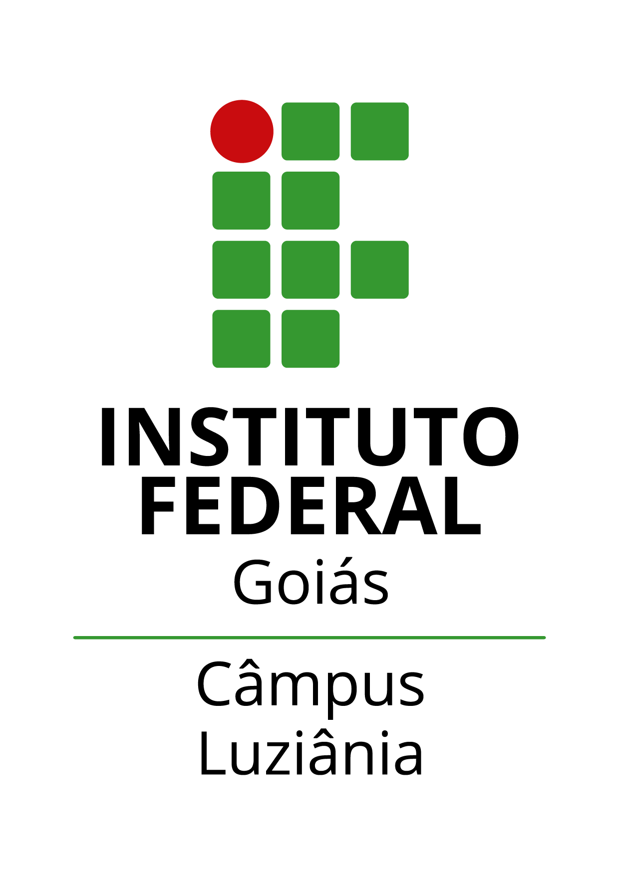 Logo do IFG - Câmpus Luziânia