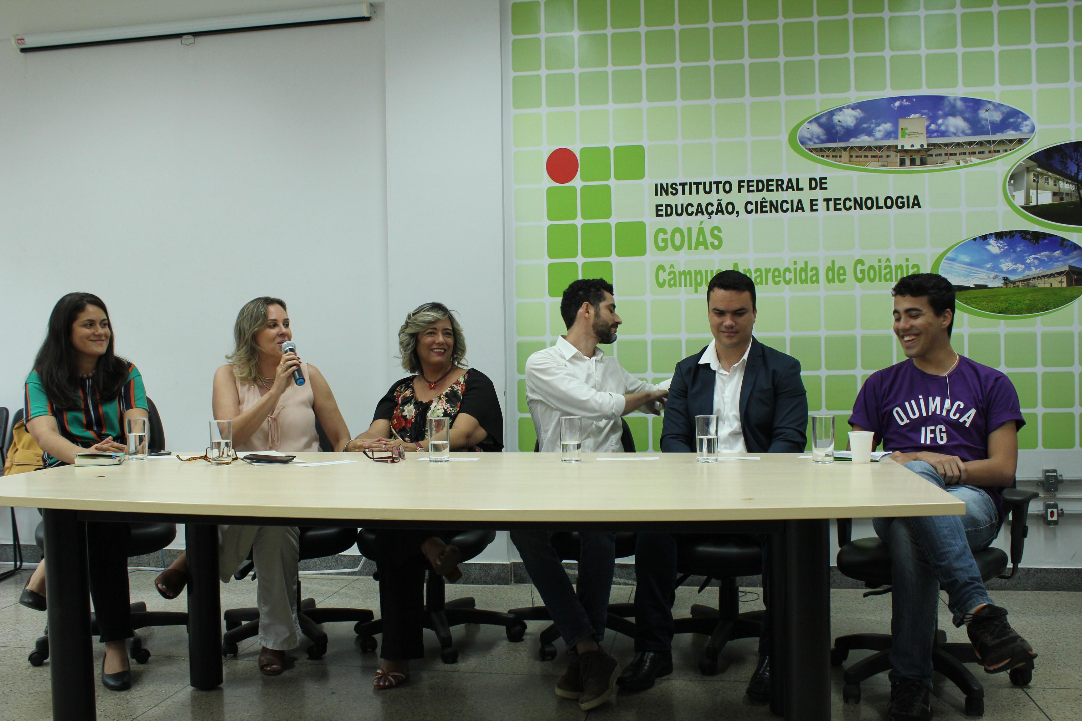 Assistência estudantil é discutida em evento no IFG