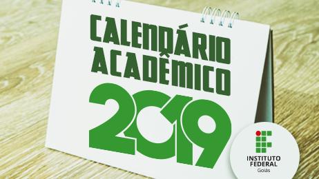Calendários Acadêmicos de 2019 já estão disponíveis para acesso da comunidade