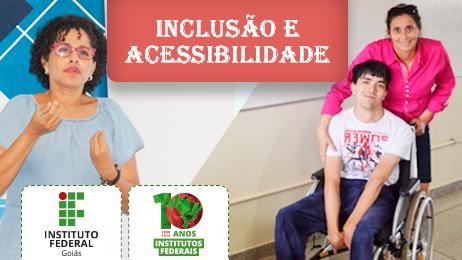 Cristiane Pereira Dias, aluna do Câmpus Aparecida de Goiânia, e João Marcos de Oliveira Santos, egresso do Câmpus Inhumas