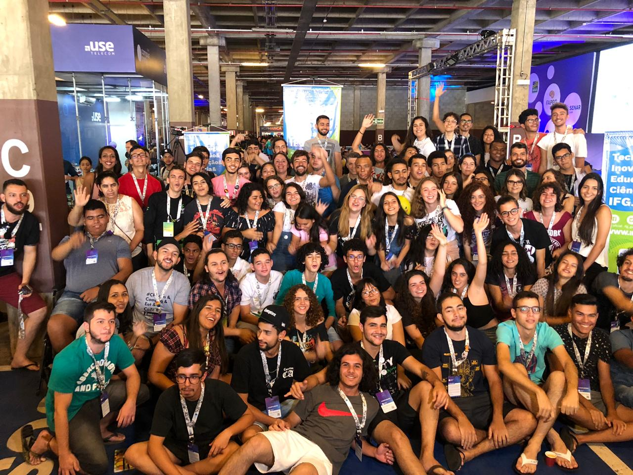 Alunos do IFG participam da 1ª Campus Party Goiás